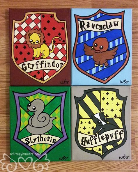 harry potter house harry potter hufflepuff house crest by whitneylynnart on