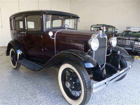 Vintage 1930 Model A Ford vintage adventurer 1930 ford model a fordor ruby