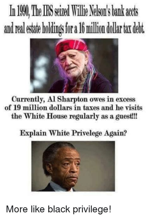 Mr Owes 25 Million In Back Taxes by 25 Best Memes About Al Sharpton Al Sharpton Memes