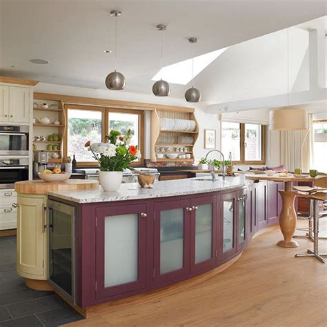 Plum Kitchen by Kitchen With Plum Painted Island Unit Kirchen Decorating