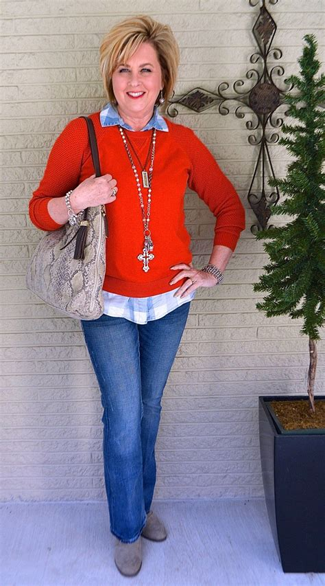 pictures outfits for women 40 years old to 50 yrs old 2015 sring going through a red phase sweater fashion 50th and woman