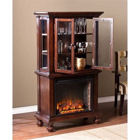 southern enterprises china cabinet southern enterprises townsend china cabinet with fireplace