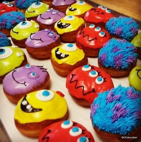 Halloween Decoration Ideas Home by Disney Character Donuts Decorated Donuts