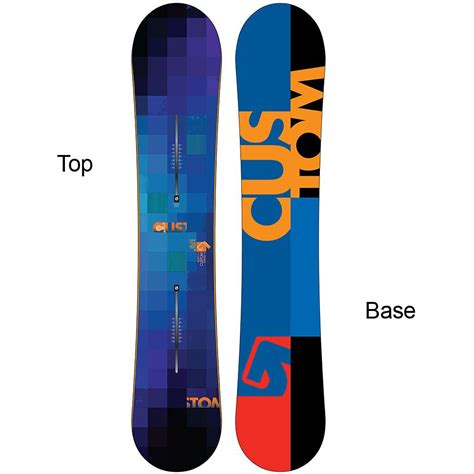 Handcrafted Snowboards - burton custom wide snowboard glenn