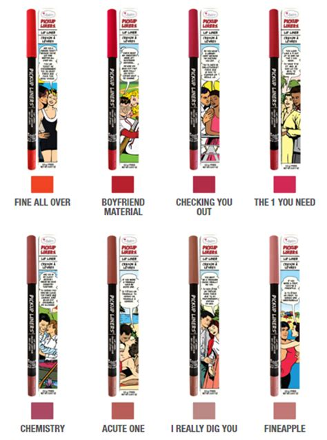 Lip Liner The Balm the balm liners lip liner be beautiful