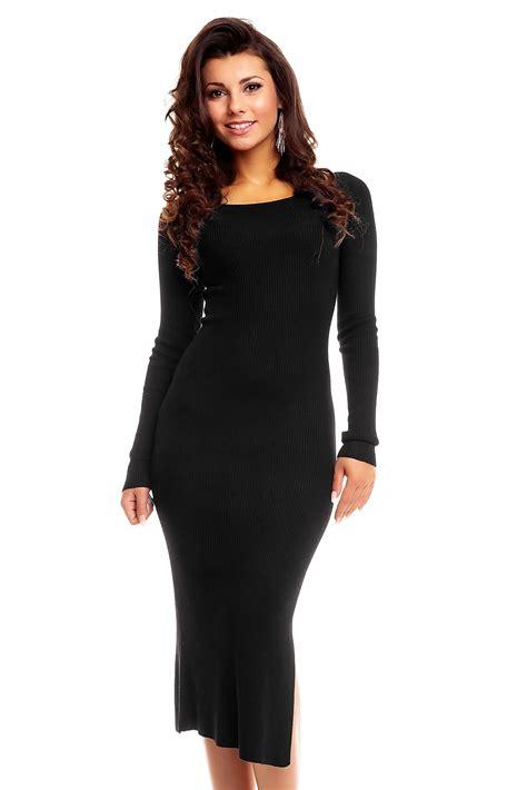c a zwarte jurken lange jurk voyelles zwart emeral beautylife fashion plaza