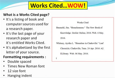 what is a thesis for a research paper works cited info turn of river library media center