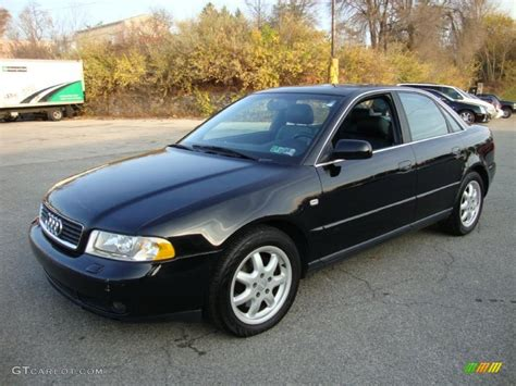 audi a4 1999 brilliant black 1999 audi a4 2 8 quattro sedan exterior