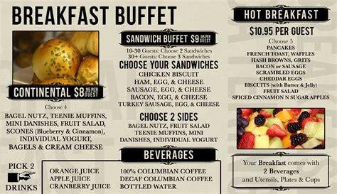 breakfast buffet menu the best 28 images of breakfast buffet menu fields of