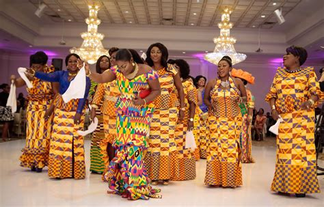 traditional ghana kente styles in engagement kwame wendy a luxury wedding in toronto i do ghana