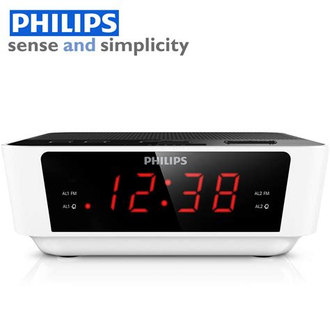 Alarm Clock Philips digital tuning radio alarm clock computer masala alarm