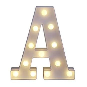amazon up light amazon com decorative light up wooden alphabet letter