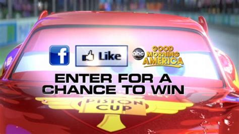 Abc News Sweepstakes - enter gma s cars2 sweepstakes video abc news