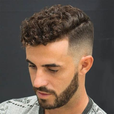 hairy men hairstyles 40 stylish haircuts for men high fade natural curly