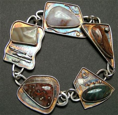 lisa rena jewlery rustic copper washer earrings long short tutorial