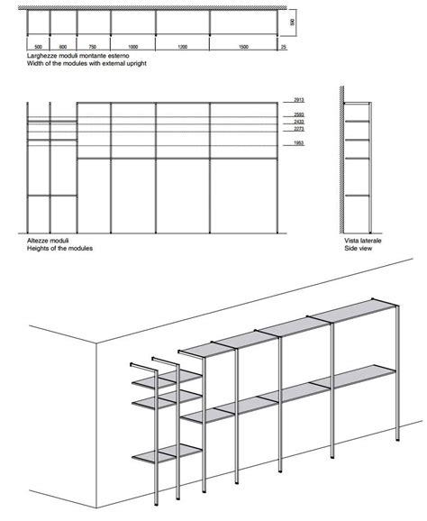 misura cabina armadio storage cabina armadio by porro design piero lissoni