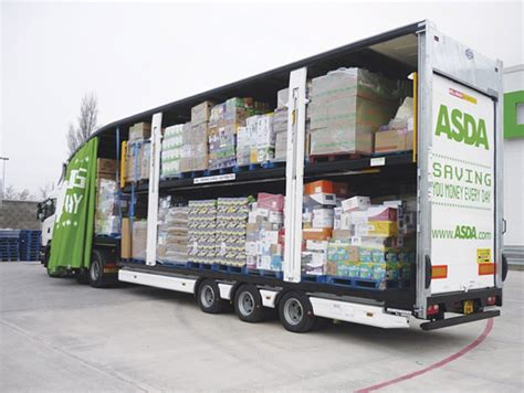 asda  open home delivery hub  enfield commercial motor