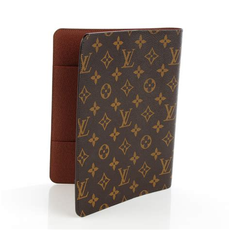 Louis Vuitton Monogram Desk Agenda Cover 128341