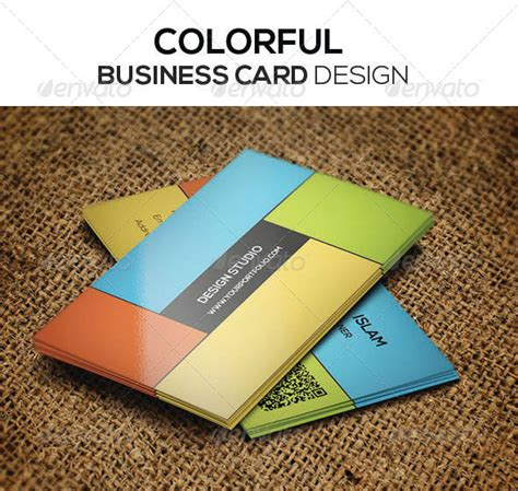 colorful business card template psd 56 visually stunning psd business card templates web