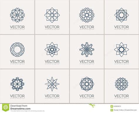 imagenes de simbolos geometricos s 237 mbolos geom 233 tricos del vector ilustraci 243 n del vector