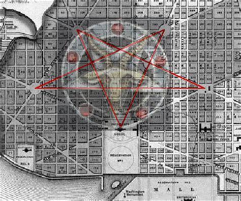 washington dc map satanic satanic washington