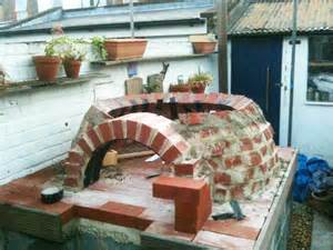 build a brick oven backyard how to make an outdoor brick oven from recycled materials