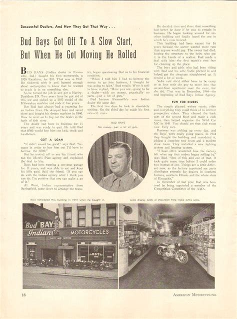 Motorcycle Dealers Evansville Indiana 1950 bud bays indian motorcycle dealer evansville indiana