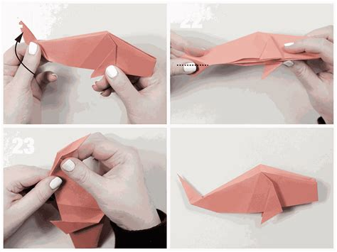 Origami Fish Tutorial - easy traditional origami fish tutorial