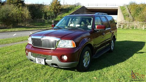 lincoln navigator 4x4 2003 low mileage