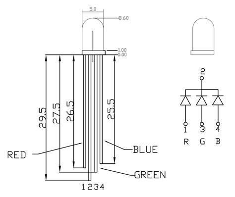 led common cathode vs anode common anode vs common cathode rgb led images