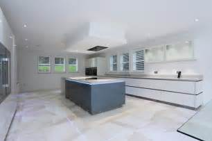 Kitchen Island Extractor Fans Island Ceiling Extractor Contemporary Kitchen By Lwk Kitchens
