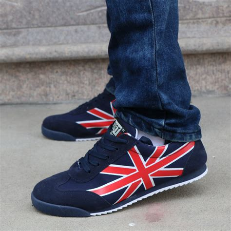 sneakers american flag s sports shoes low