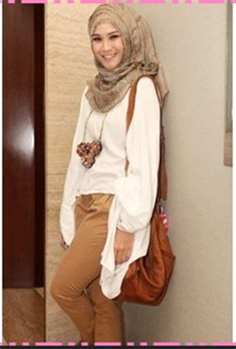 Zaskia Setelan model baju muslim kantor terbaru 2015 indo fashion
