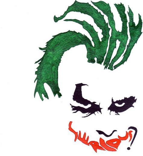 dark knight joker logo clipart best