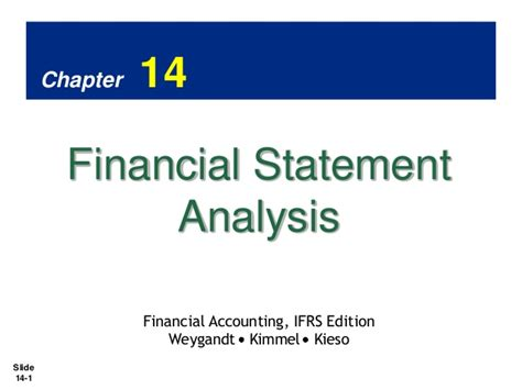 Akuntansi Manajerial 1 Ed 14 pengantar akuntansi 2 ch14 financial statement analysis