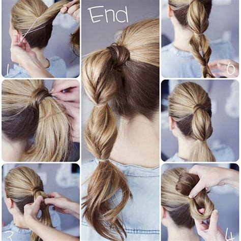 how to make easy hairstyles with pictures simple ponytail hairstyle tutorial styles weekly