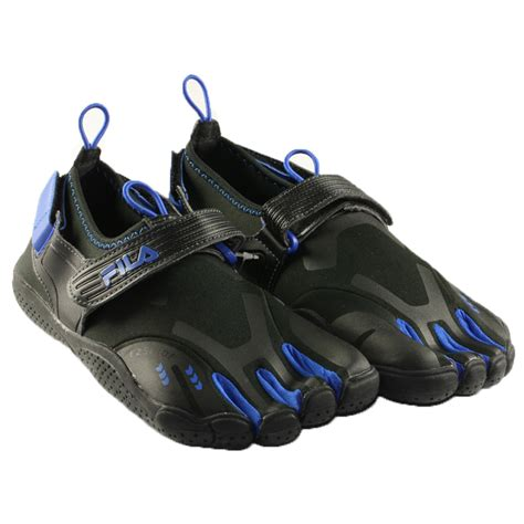 fila toe shoes for mens fila skele toes ez slide running outdoor blue shoes
