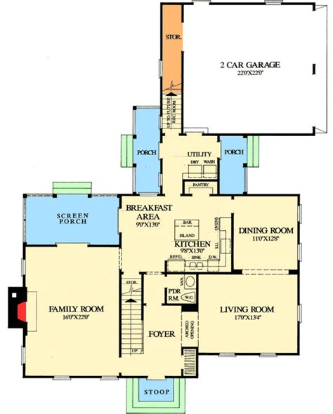 formal plan with angled garage 69353am architectural formal and informal spaces 32434wp architectural