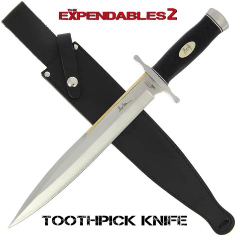 toothpick knives the expendables toothpick knife knifewarehouse