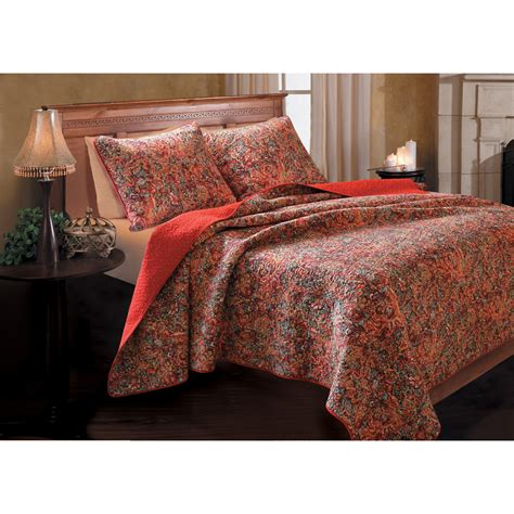 greenland bedding greenland home fashions persian quilt set bedding and