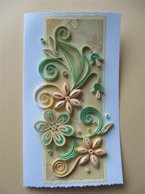 Handmade Quilling Greeting Cards - 708 best images about cards on quilling comb
