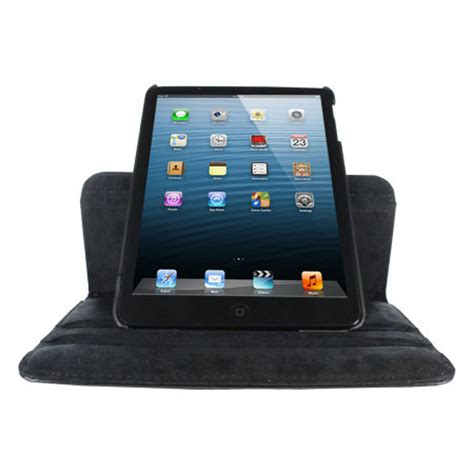 Mini 1 2 3 Rotating Leather Bumper Armor Sarung Cover leather style rotating for mini 3 2 1 black