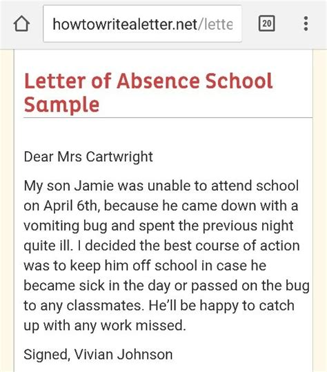 Explanation Letter Due To Absent Best Solutions Of Sle Of Excuse Letter For Being Absent In School Due To Asthma With
