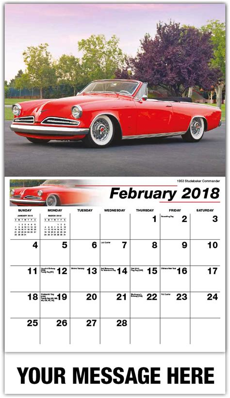 libro cars gallery calendar 2018 classic cars calendar 65 162 business advertising promo calendars