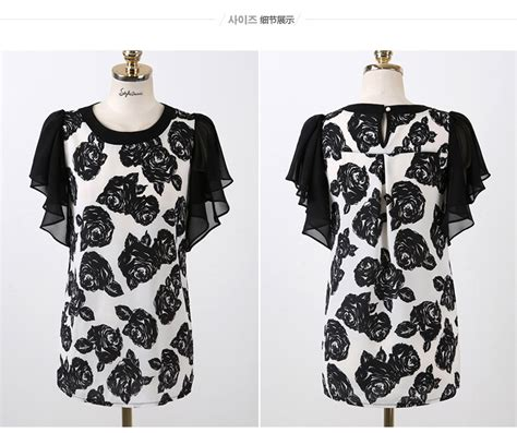 Blouse Motif The Limited by Baju Blouse Wanita Motif Bunga Model Terbaru Jual