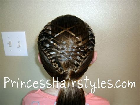 Basket Weave Hairstyle by Steps To Create Basket Weave Braid Style Hairstylescut