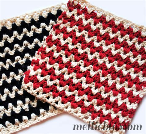 how to make zig zag crochet pattern free crochet dishcloth and scrubbie patterns
