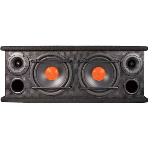 Box Speaker 6 new dual sbx6502 2 way range speaker box with two 6 5