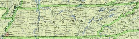 Tennessee Map With Cities And Towns by Tennessee Base Map