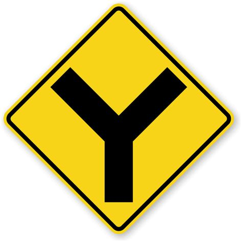Road Signs by Intersection Road Traffic Signs